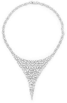 Adriana Orsini Women's Caspian Crystal Bib Necklace