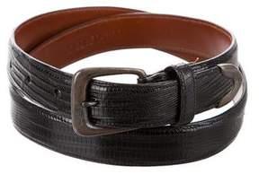 Ralph Lauren Lizard Buckle Belt