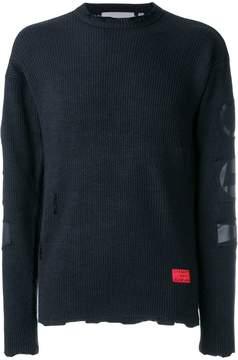 Carhartt Slam Jam x patch detail jumper