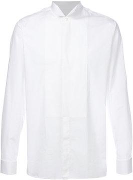 Z Zegna upturned collar shirt