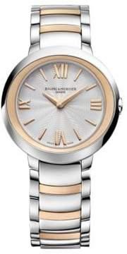 Baume & Mercier Promesse 10159 Two-Tone Bracelet Watch