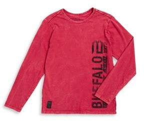 Buffalo David Bitton Boy's Cotton Long-Sleeve Tee
