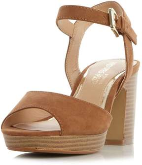 Head Over Heels *Head Over Heels by Dune Tan 'Jewel' High Heel Sandals