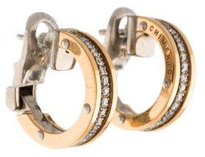 Chimento Aeternitas Diamond Hoop Earrings