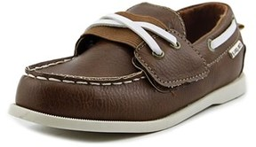 Carter's Joshua 3 Toddler Moc Toe Synthetic Brown Boat Shoe.