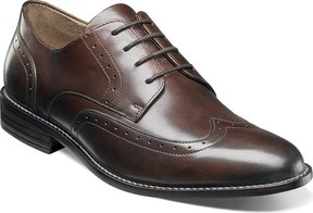 Nunn Bush Slate Wing Tip Oxford (Men's)