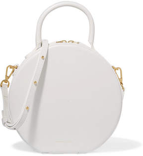 Mansur Gavriel Circle Leather Shoulder Bag - White