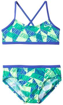 Nike Graphic Crossback Bikini Girl's Swimwear Sets