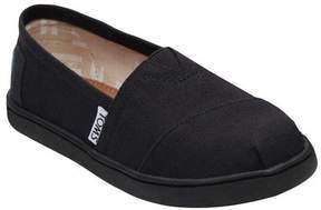 Toms Girl's Toms, Alpargata Classic Slip on Shoes BLACK BLACK 6 M