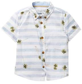 Sovereign Code KD Stripe Palm Shirt (Toddler & Little Boys)