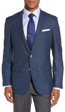 BOSS Men's Hutsons Trim Fit Wool Blazer