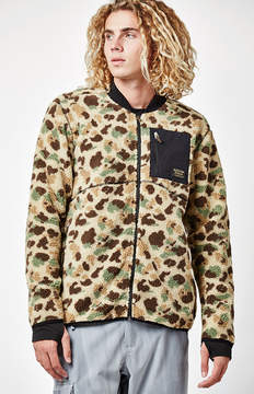 Burton Grove Camo Full-Zip Fleece Jacket