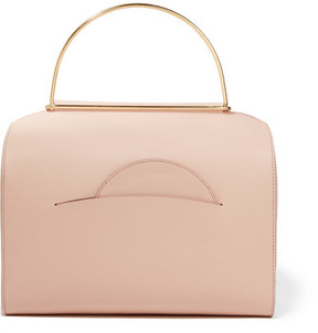 Roksanda Bag 1 Textured-leather Tote - Blush