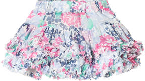 Joules Pink And Blue Floral Tutu Skirt