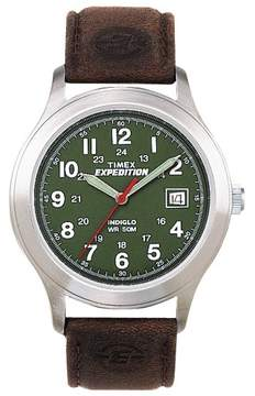 Timex Mens T40051 Expedition Metal Field Watch One Size Brown