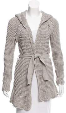 Calypso Hooded Knit Cardigan