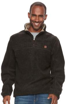 Coleman Men's Classic-Fit Sherpa-Lined Quarter-Zip Pullover