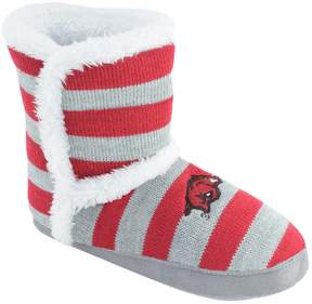 NCAA Women's Arkansas Razorbacks Striped Boot Slippers