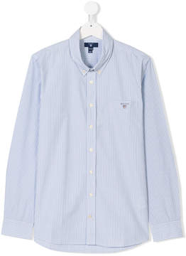 Gant Kids TEEN checked button-down shirt