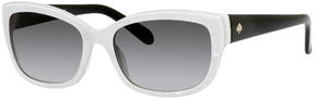 Safilo USA Kate Spade Johanna Rectangle Sunglasses