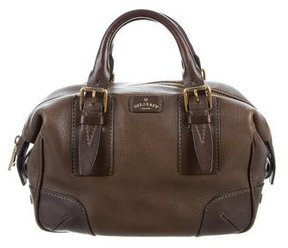 Belstaff Leather Top Handle Bag
