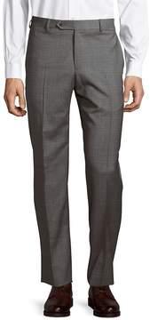 Zanella Men's Parker Wool Plaid Pants