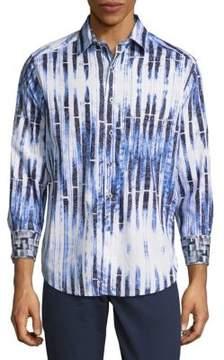 Robert Graham Gloucester Cotton Button-Down Shirt