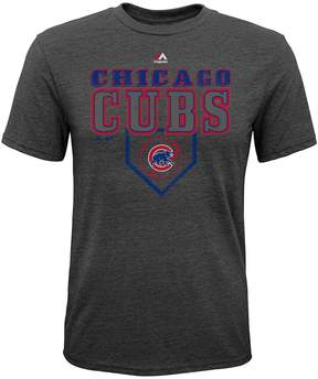Majestic Boys 8-20 Chicago Cubs Heirloom Tee