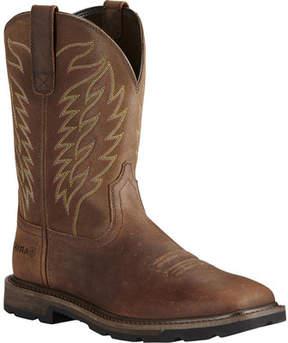 Ariat Groundbreaker Wide Square Toe Boot (Men's)