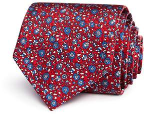 Bloomingdale's The Men's Store at Printed Floral Classic Tie - 100% Exclusive