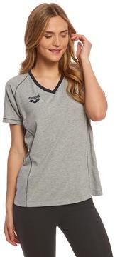 Arena Women's Team Line Short Sleeve V Neck T Shirt 8159879