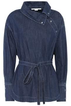 Stella McCartney Denim wrap shirt