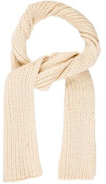 Dries Van Noten Rib Knit Wool Scarf