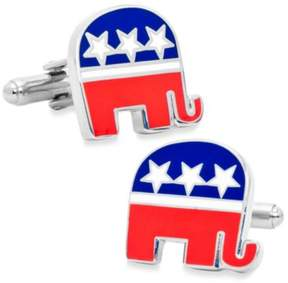 Bed Bath & Beyond Republican Elephant Cufflinks