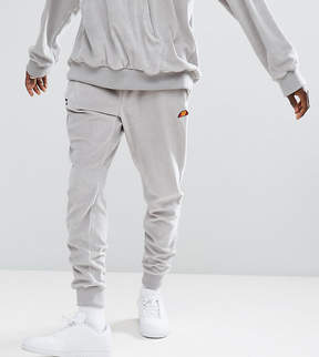 Ellesse Velour Joggers In Gray