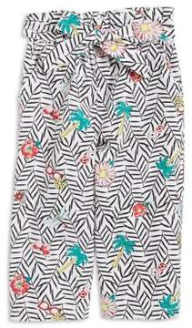 Flapdoodles Little Girl's Printed Cotton Pants