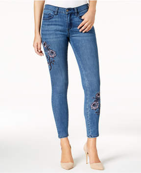 Buffalo David Bitton Faith Embroidered Skinny Jeans