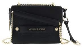 Versace EE1VRBBU3 Black Shoulder Bag with chain strap