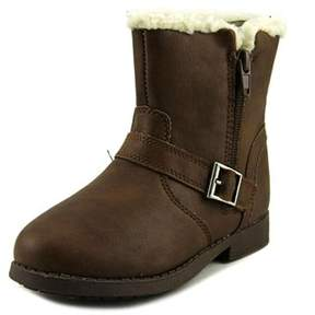 Osh Kosh Megan-g Youth Round Toe Synthetic Brown Bootie.