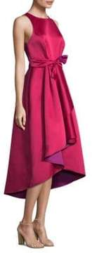 Shoshanna Preuss Tie-Front Dress