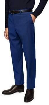 MANGO Patterned Suit Pants