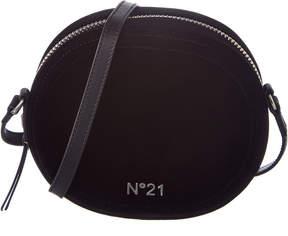 N°21 N21 Logo Velvet Tambourine Crossbody