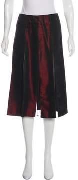 DKNY Pleated Knee-Length Skirt