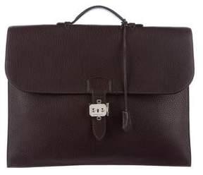 Hermes Togo Sac A Depeches Briefcase