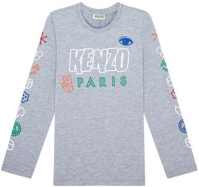 Kenzo Emoji Logo T-Shirt