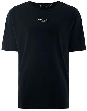 Nicce Black Box Logo T-Shirt