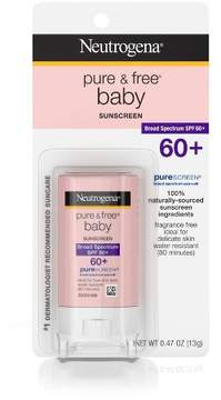 Neutrogena Sun Baby Pure & Free Neutrogena® Pure & Free Baby Sunscreen Stick Broad Spectrum - SPF 60 - 0.47oz