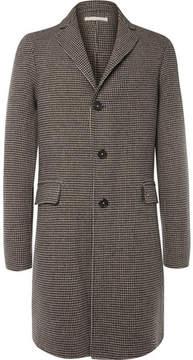 Massimo Alba Austin Houndstooth Wool Overcoat
