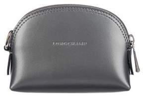 Longchamp Metallic Leather Coin Purse