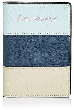 Rebecca Minkoff Adventure Awaits Passport Case - BLUE MULTI/SILVER - STYLE